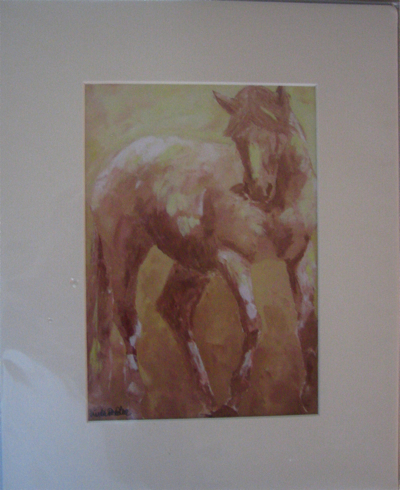 Knabstrupper Horse Print
