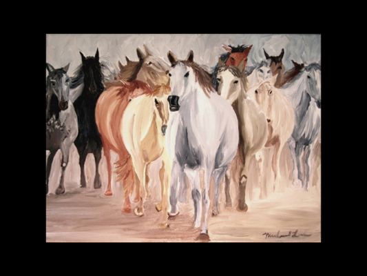 Gang of Horses.