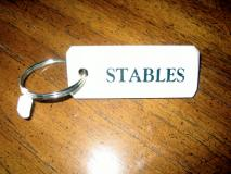 Stables Key Ring