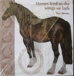 note cube horse quotes