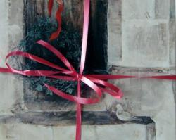 Christmas Cards Mary Brazier: Church Step