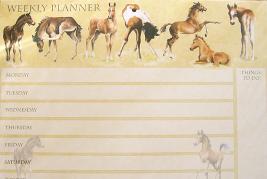 Foals Weekly Planner