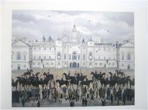 Horse Guards Parade Greeting Card