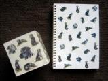 Note Cube and Spiral Note Book
