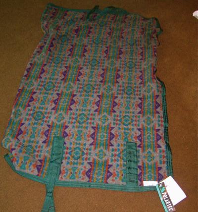 saratoga exercise rug lining
