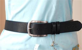 Kyra K. Leather Belt