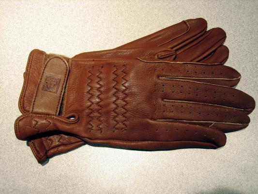 gloves ssg pro-show deerskin acorn