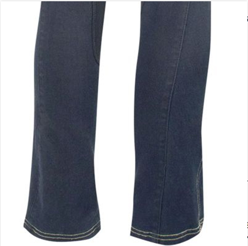 Boot cut denim breeches