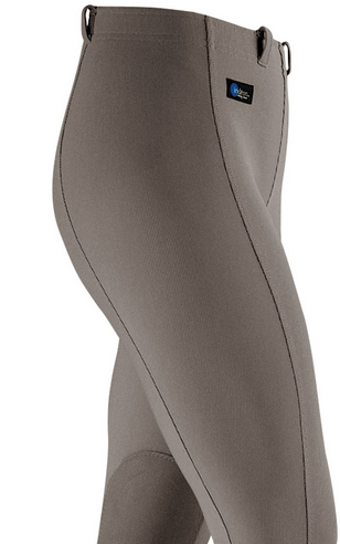 irideon cadence stretch cord knee patch breeches sandstone