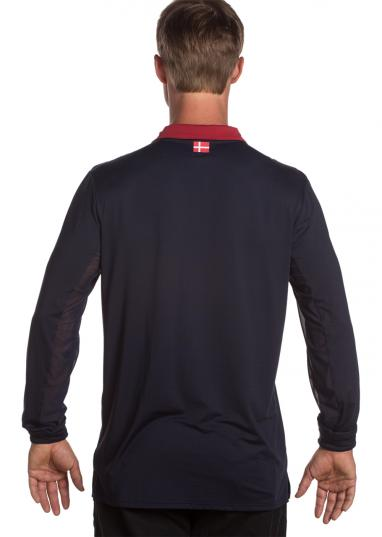 kastel denmark hendrick mens shirt-navy dark red back
