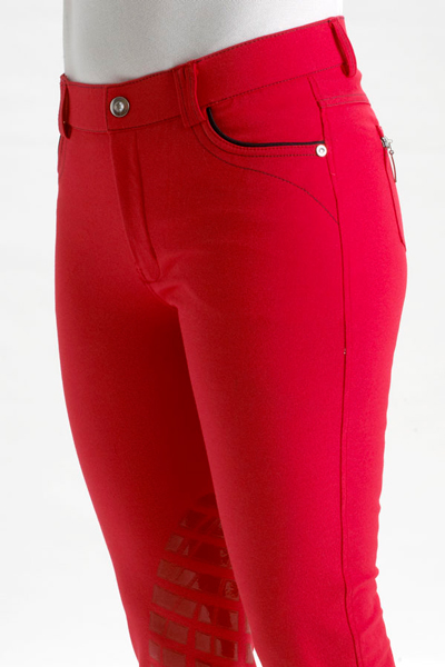 kentucky adele breeches red front view