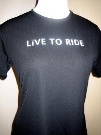 Eurofit Live To Ride Shirt Black Short Sleeve