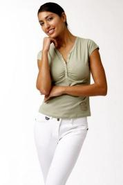 Kyra K. Emy Cotton Shirt in Cypress