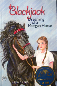 Blackjack Dreaming of a Morgan Horse