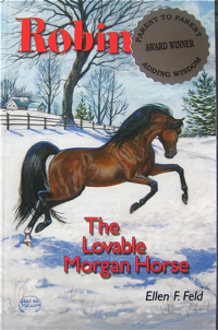 Robin The Lovable Morgan Horse