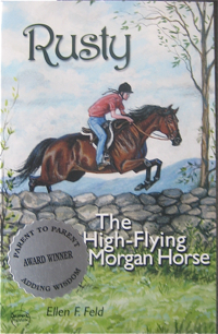 Rusty The High Flying Morgan Horse